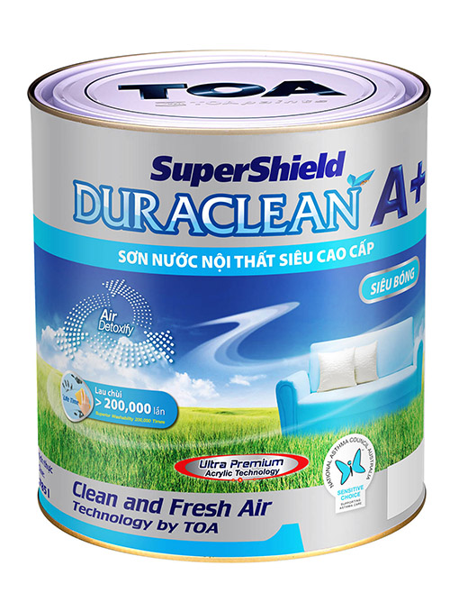 SUPERSHIELD DURACLEAN A+