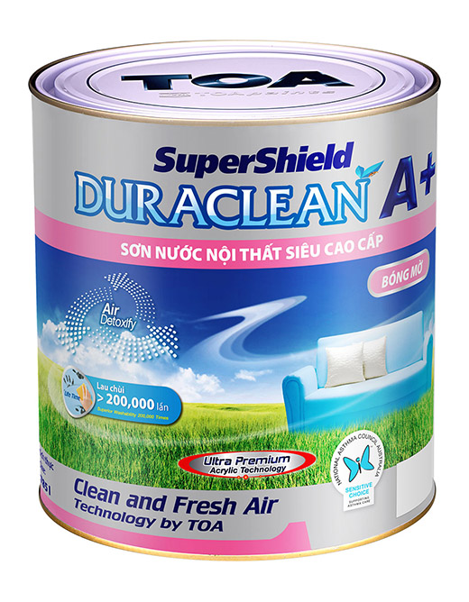 SUPERSHIELD DURACLEAN A++