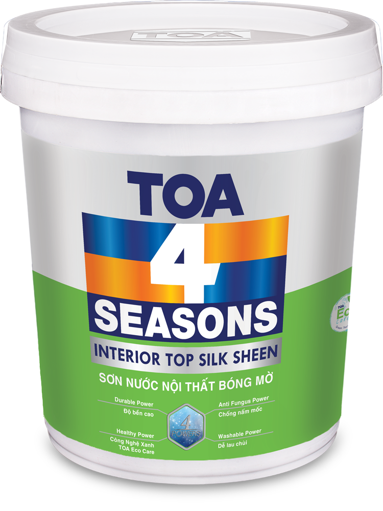 TOA 4 SEASON INT TOP SILK SHEEN