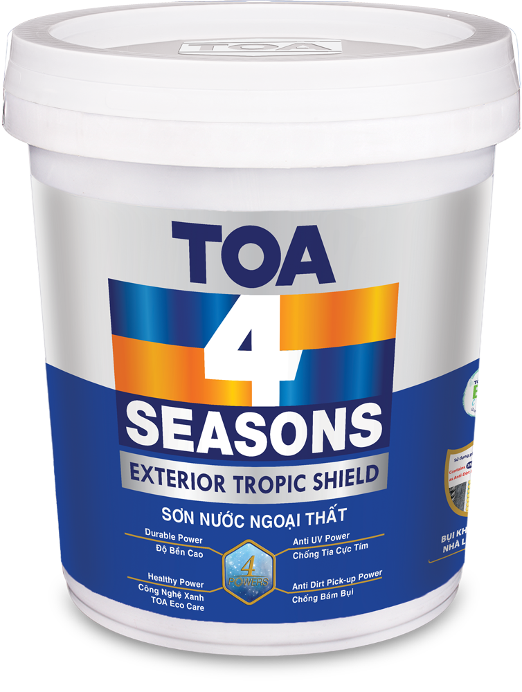 TOA 4 SEASONS EXTERIOR TROPIC SHIELD